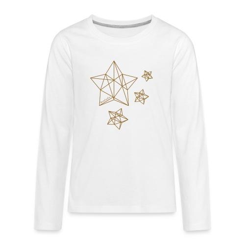 Sternenhimmel Diamant - Teenager Premium Langarmshirt