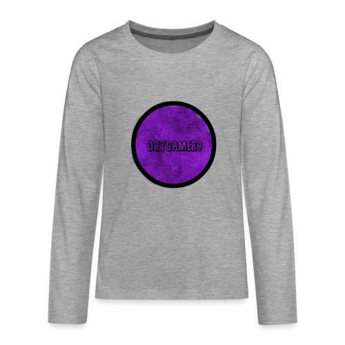 new logo - Teenagers' Premium Longsleeve Shirt