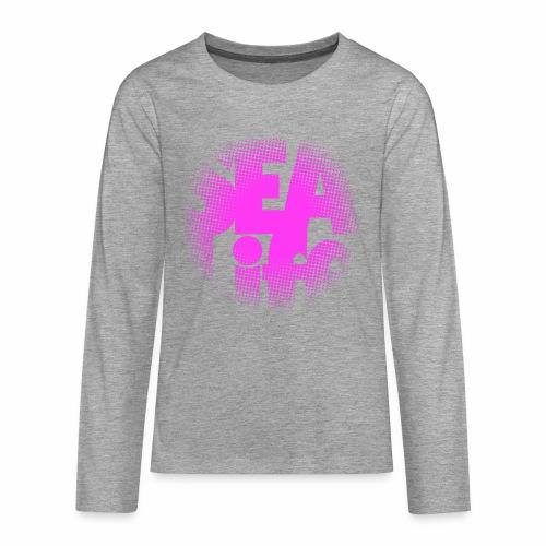 Sealife surfing tees, clothes and gifts FP24R01B - Teinien premium pitkähihainen t-paita