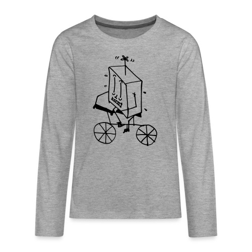 bike thing - Teenagers' Premium Longsleeve Shirt