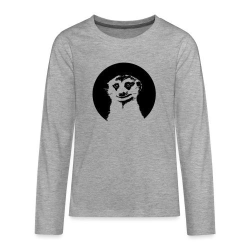 Stokstaartje groot rond - Teenager Premium shirt met lange mouwen