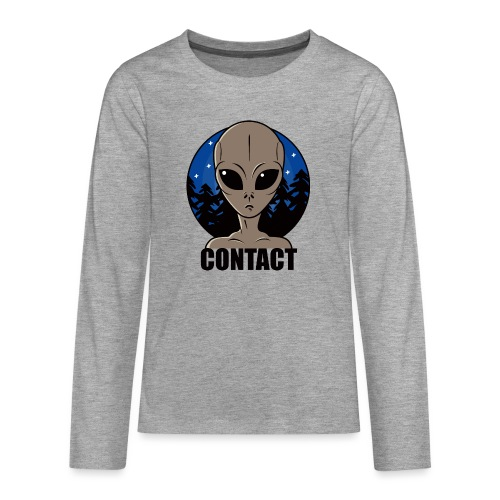 Contact Extraterrestre - T-shirt manches longues Premium Ado