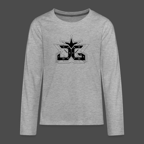 LOGO OUTLINE SMALL - Teenagers' Premium Longsleeve Shirt