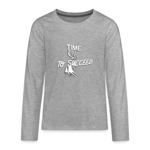 Het tijd - Teenager Premium shirt met lange mouwen