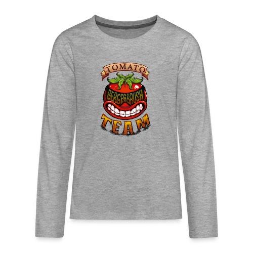 Tomato Team - Långärmad premium T-shirt tonåring