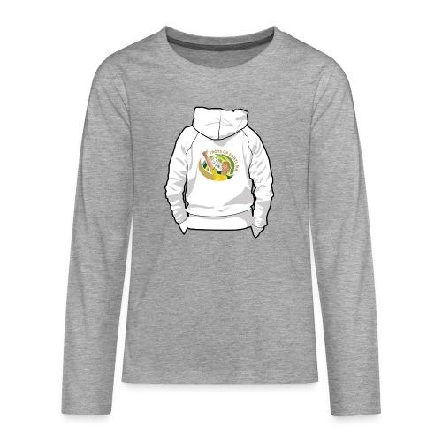 hoodyback - Teenager Premium shirt met lange mouwen