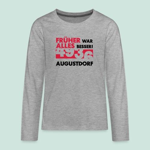 Früher 4936 Augustdorf - Teenager Premium Langarmshirt