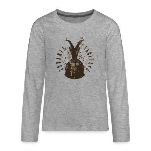 Patrioti Vintage Skenderbeg - Teenager Premium Langarmshirt