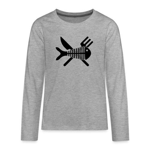 Poisson couvert - T-shirt manches longues Premium Ado