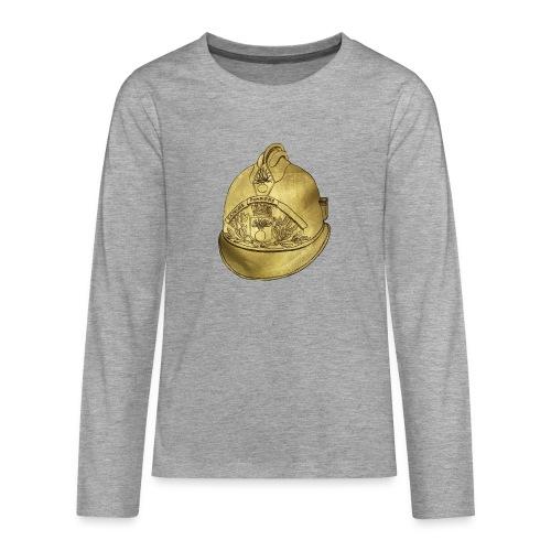Casque pompier - T-shirt manches longues Premium Ado