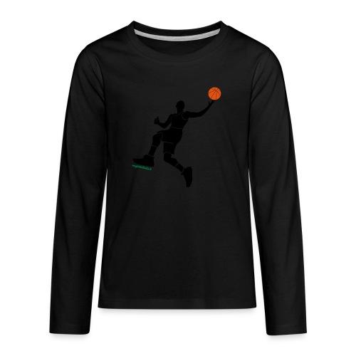 slamdunk_ball - Maglietta Premium a manica lunga per teenager