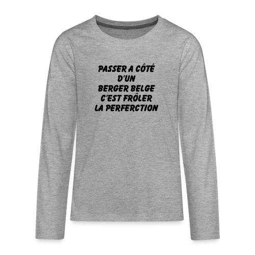 Frôler la perfection - T-shirt manches longues Premium Ado