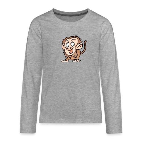 Aap - Teenager Premium shirt met lange mouwen