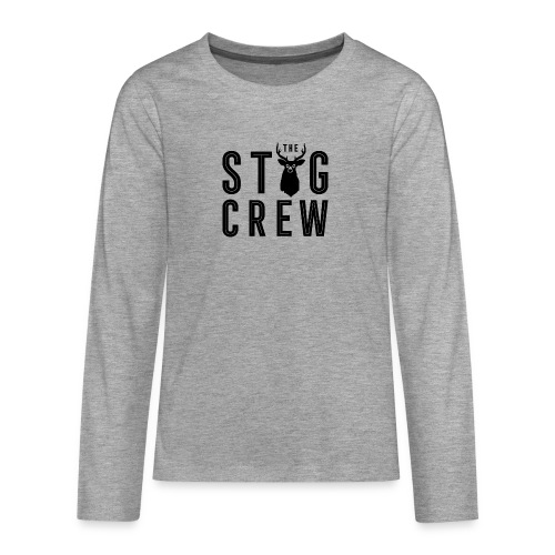 THE STAG CREW - Teenagers' Premium Longsleeve Shirt