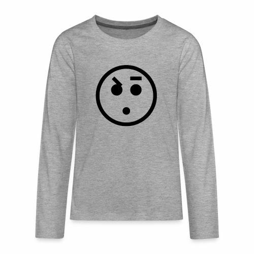 EMOJI 18 - T-shirt manches longues Premium Ado