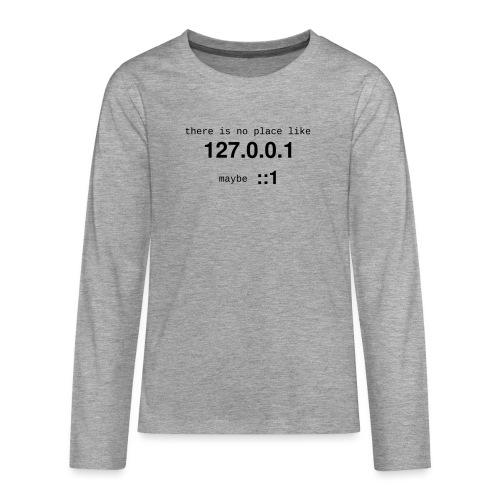 127-0-0-1-::1 - T-shirt manches longues Premium Ado