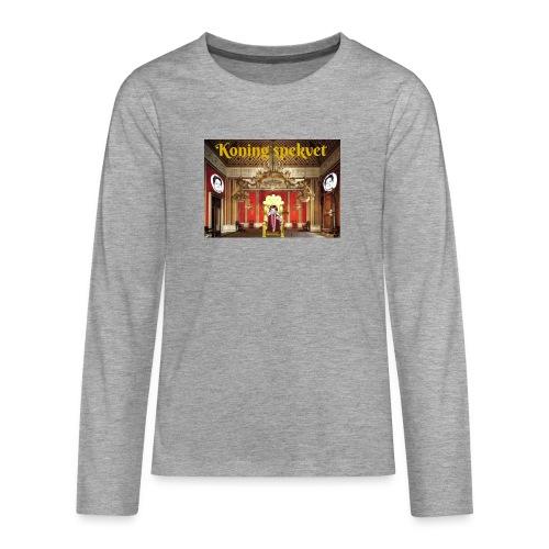 Koning Spekvet - Teenager Premium shirt met lange mouwen