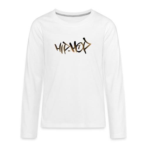 HIP HOP - Teenagers' Premium Longsleeve Shirt