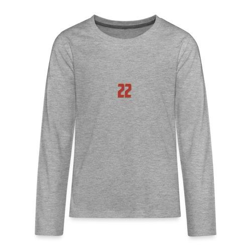 t-shirt zaniolo Roma - Maglietta Premium a manica lunga per teenager