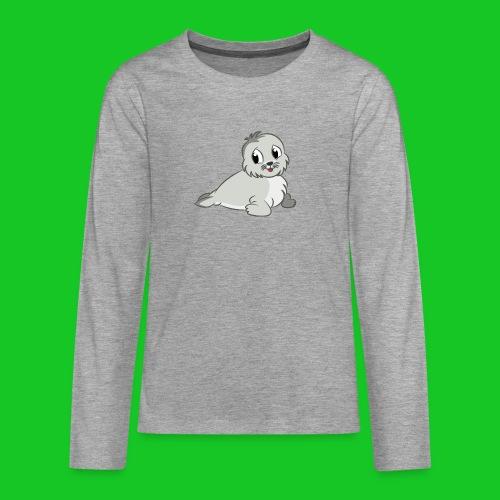 Zeehondje - Teenager Premium shirt met lange mouwen