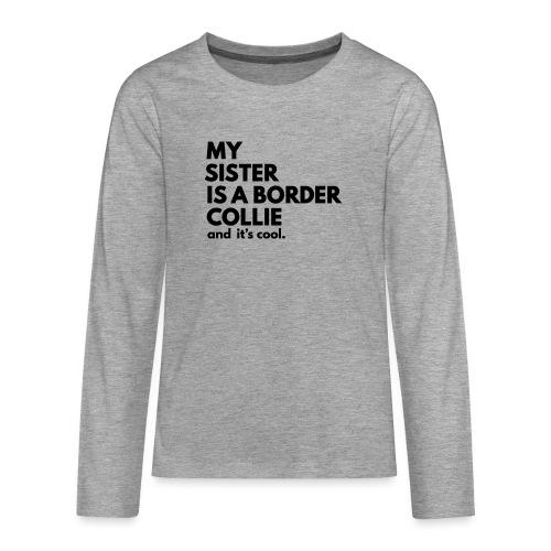 MSB_TEE_SISTER - T-shirt manches longues Premium Ado