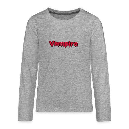 VAMPIRE Design - Teenagers' Premium Longsleeve Shirt