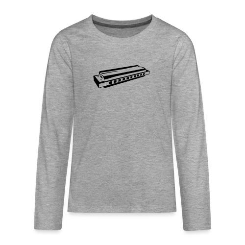 Harmonica - Teenagers' Premium Longsleeve Shirt