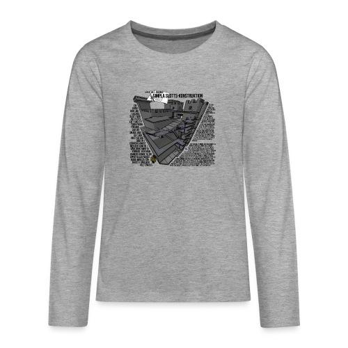 Jacobs Slott - Långärmad premium T-shirt tonåring