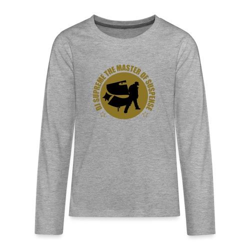 Master of Suspense T - Teenagers' Premium Longsleeve Shirt