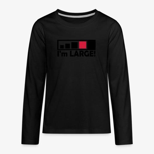 large_geocacher - Teenager Premium Langarmshirt