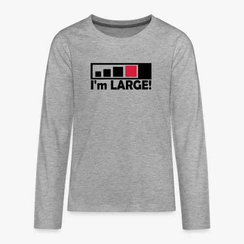 large_geocacher - Teenager Premium Langarmshirt