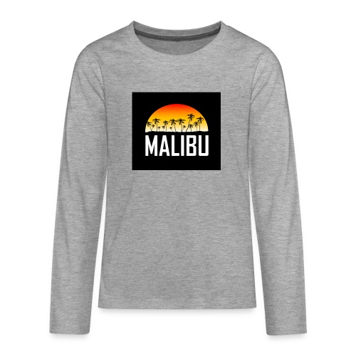 Malibu Nights - Teenagers' Premium Longsleeve Shirt