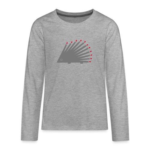 Hedgehog - Teenagers' Premium Longsleeve Shirt