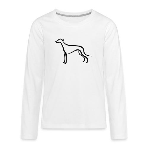 Greyhound - Teenager Premium Langarmshirt