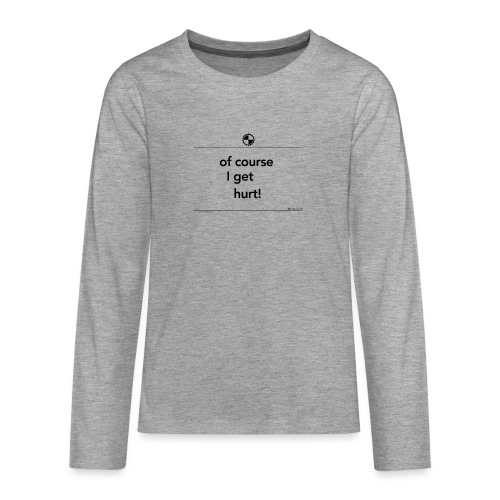 Of course I get Jackie Chan black - Teenager Premium shirt met lange mouwen