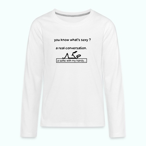 what's sexy v 1702410_13 - Teenager Premium Langarmshirt
