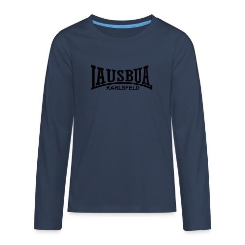 lausbua karlsfeld - Teenager Premium Langarmshirt