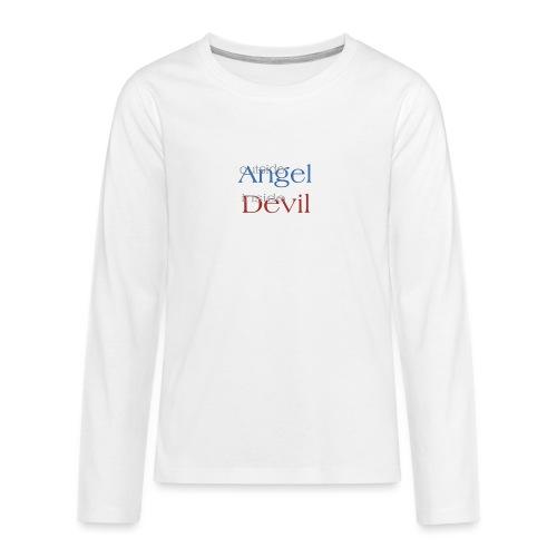 Angelo o Diavolo? - Maglietta Premium a manica lunga per teenager