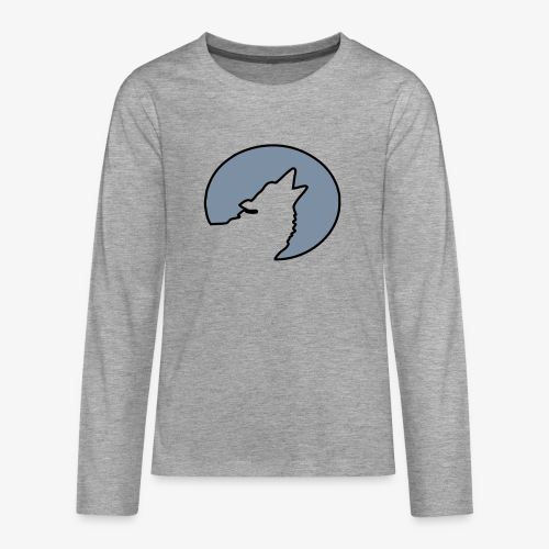 Moonwolf alt - Teenager Premium Langarmshirt