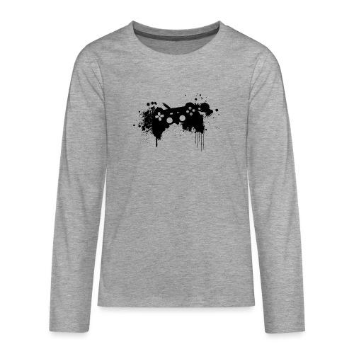 Speel harde controller - Teenager Premium shirt met lange mouwen