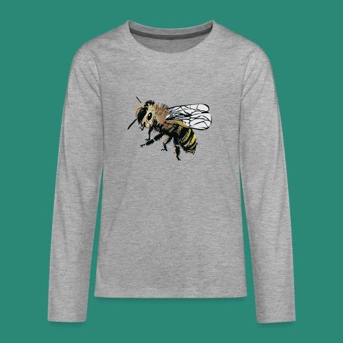 Wespe - Teenager Premium Langarmshirt