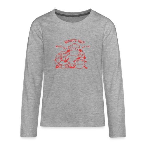 yendasheeps - Teenager Premium shirt met lange mouwen