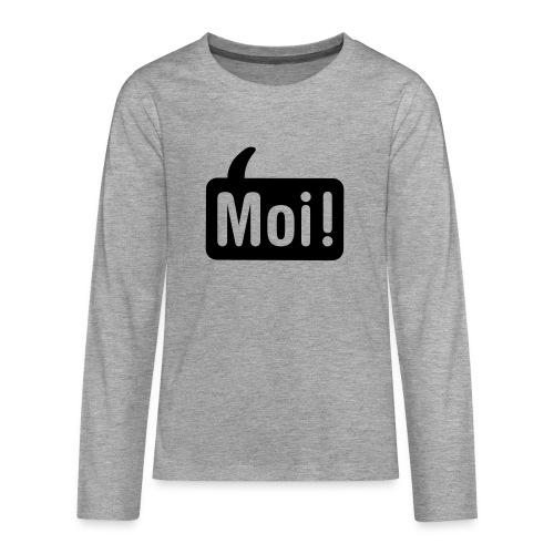 hoi shirt front - Teenager Premium shirt met lange mouwen