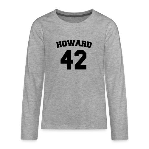Beavers back - Teenager Premium shirt met lange mouwen
