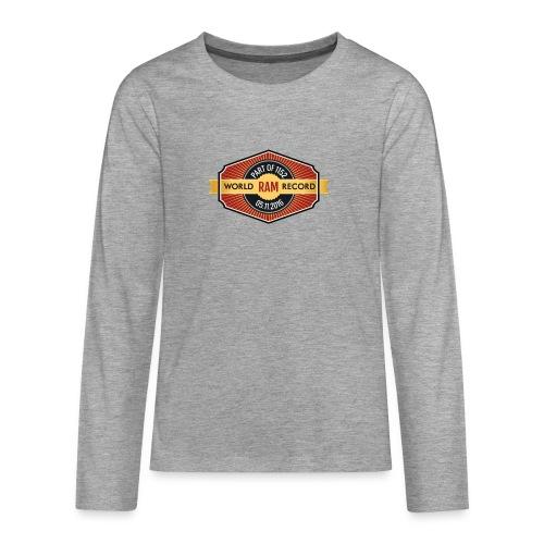 Nappo-Kids - Teenager Premium Langarmshirt