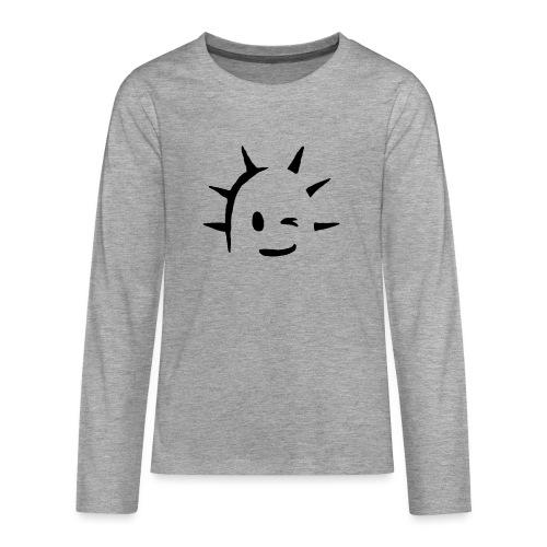Kaktus Kopf - Teenager Premium Langarmshirt