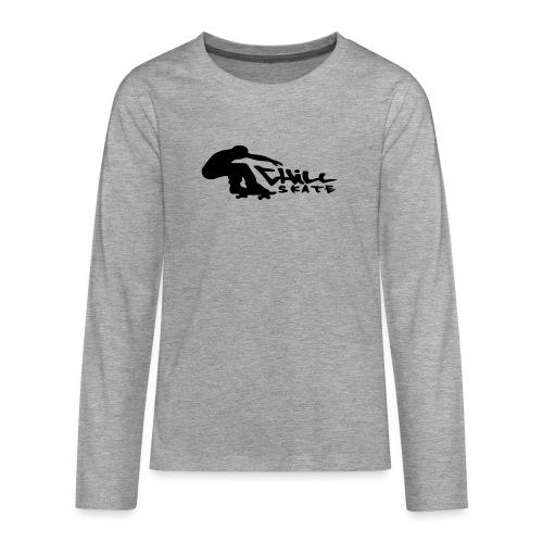 Chillskate - Långärmad premium T-shirt tonåring