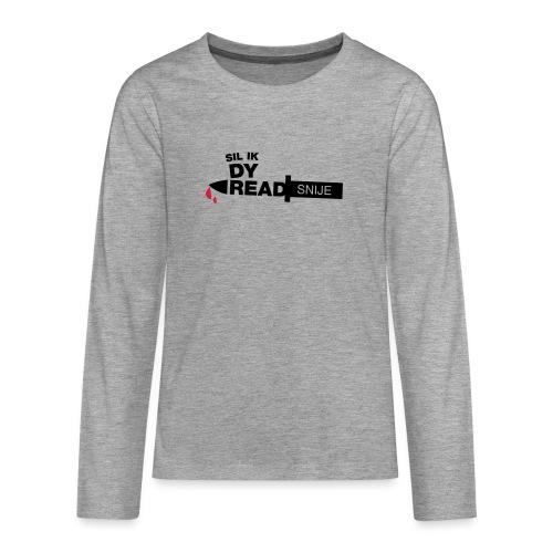 Read snije - Teenager Premium shirt met lange mouwen
