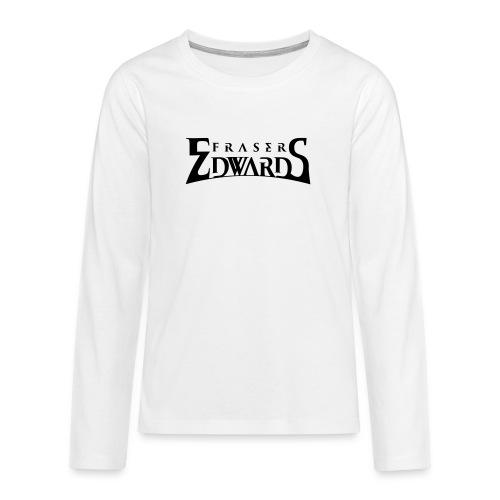 Fraser Edwards Men's Slim Fit T shirt - Teenagers' Premium Longsleeve Shirt