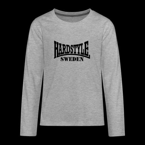 hardstyle - Långärmad premium T-shirt tonåring